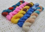 Disney Princess Minis - 75% Merino, 25% Nylon - 4ply - 5 x 20g