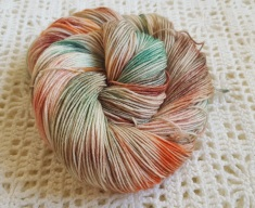 Falling Leaves - 75% SW BFL, 25% Nylon - 4ply