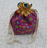 Flower Power Small Project Bag