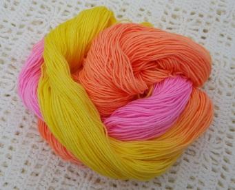 FRUIT SALAD - 75% SW Merino, 25% Nylon, - 4ply