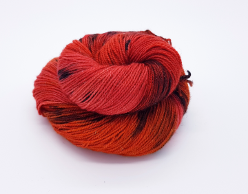 Bonfire Night - 75% SW Merino, 20% Nylon, 5% Stellina - 4ply